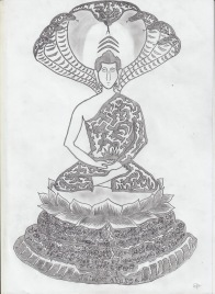 #3 Buddha and Mucalinda