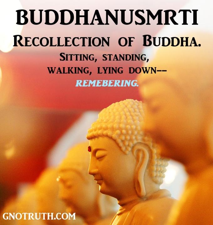 buddhanusmrti