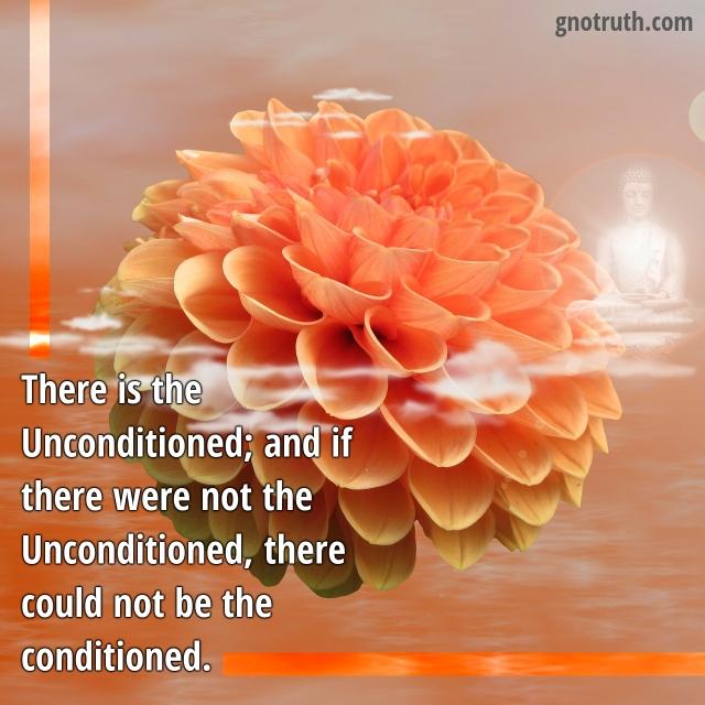 conditionedUnconditioned